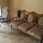 living room furniture in vacation rental