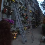 Ladders at Guanajuato Cemetery Day of the Dead