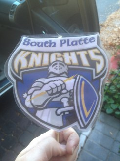 The South Platte Knight that we're taking with us!