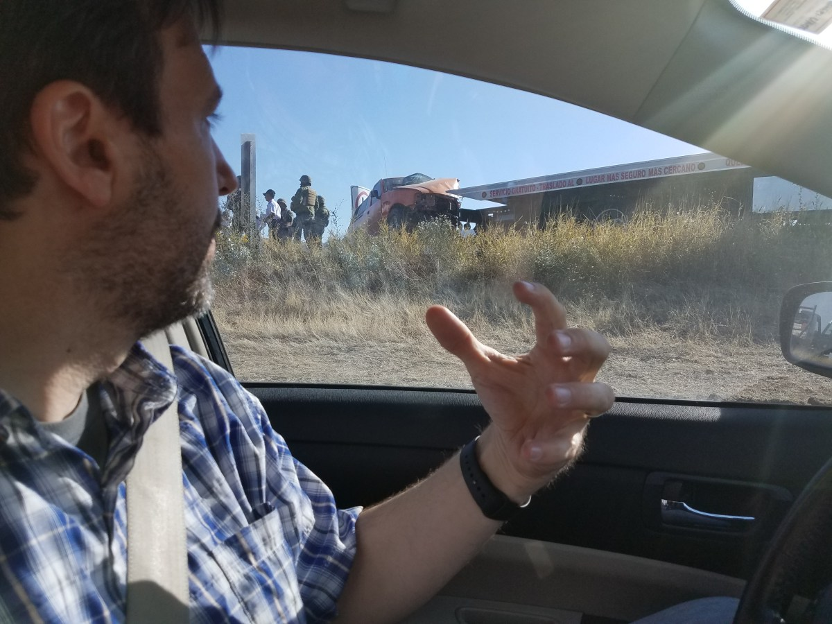 Driving in Mexico: John Has to Pee…