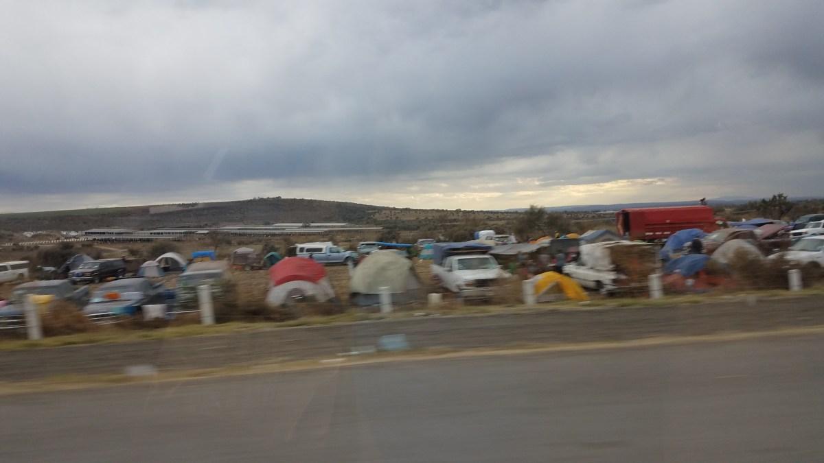 Pilgrimage Near Guanajuato, Mexico
