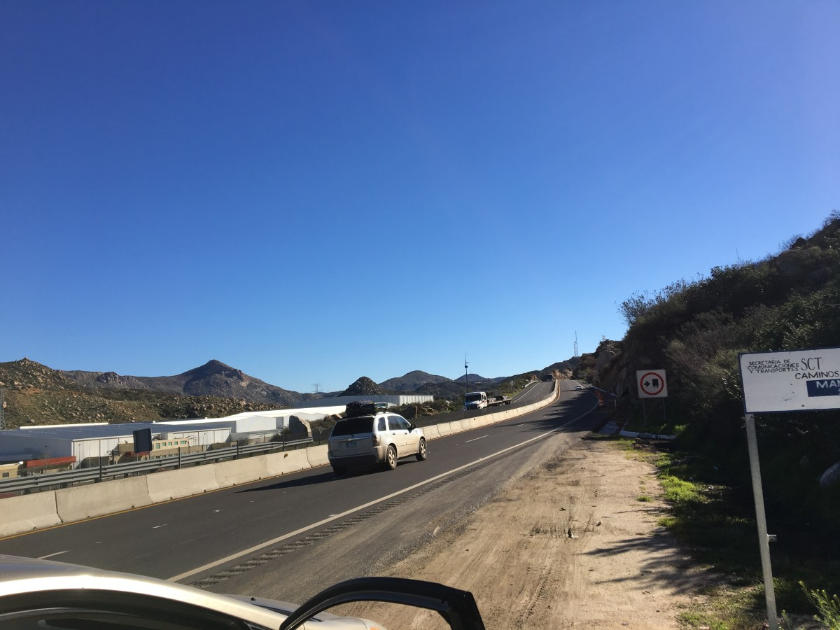 Driving in Mexico: Just Outside Monterrey, Mexico