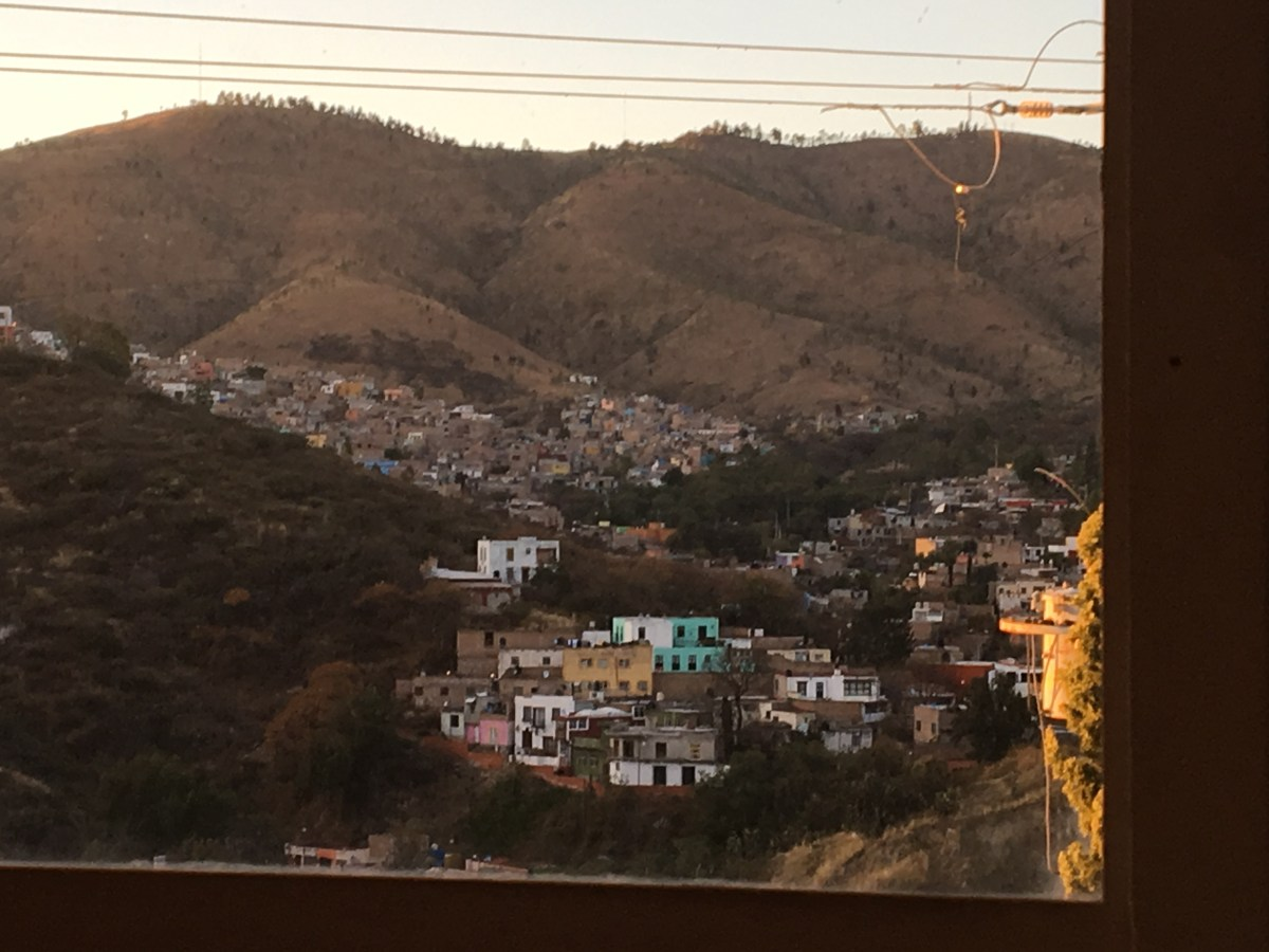 Guanajuato City Limits to Our Vacation Rental in San Javier