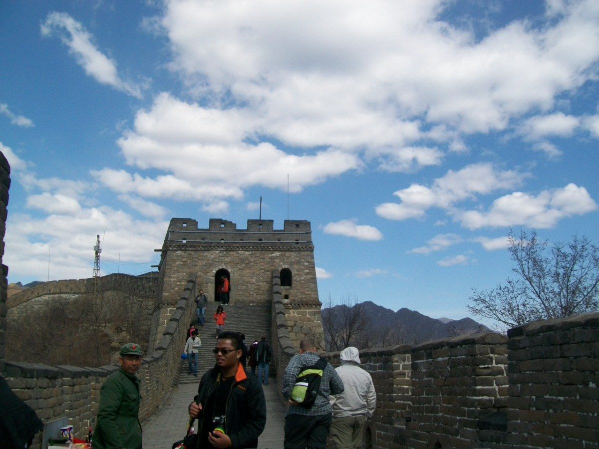 Places to Visit in Beijing: A Bridge and Touts at the Great Wall