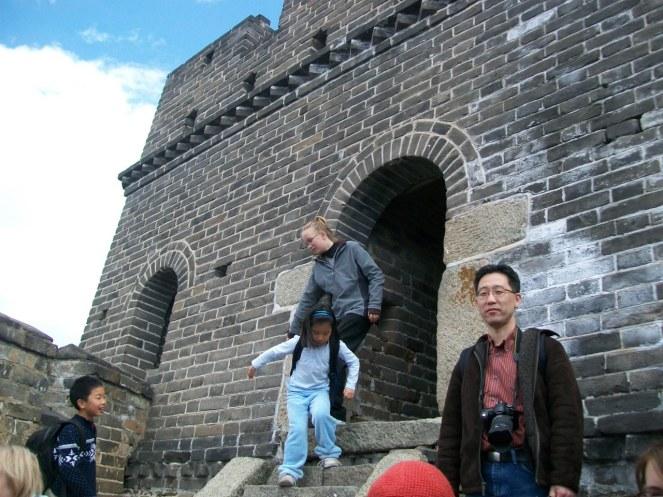 Great Wall at Mutianyu Beijing China