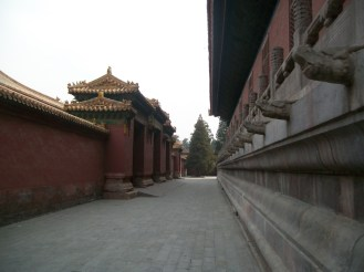 We walked all around the outer walls of the Forbidden City in search of the main entrance. On our way, we saw all kinds of cool things.