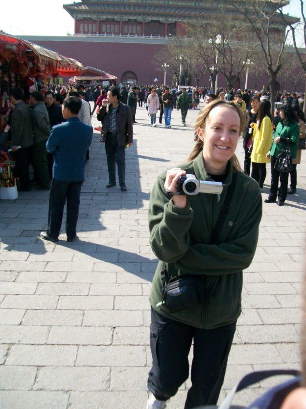 The Forbidden City in Beijing.