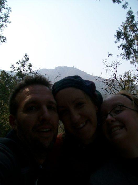 Selfie Beijing China fragrant hills park