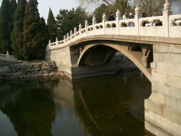 A bridge over Kunming Lake.