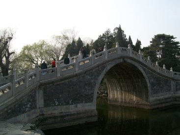 The summer palace is all about sumptuousness. It's a place filled with gardens and lakes and all the good things in life.