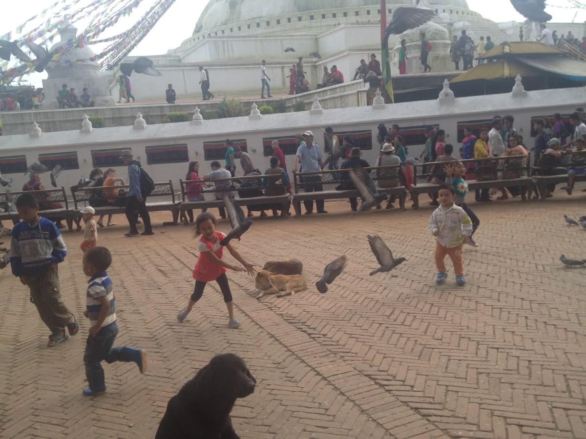 Kathmandu Tourism: Drawing for Nepali Kids Outtake