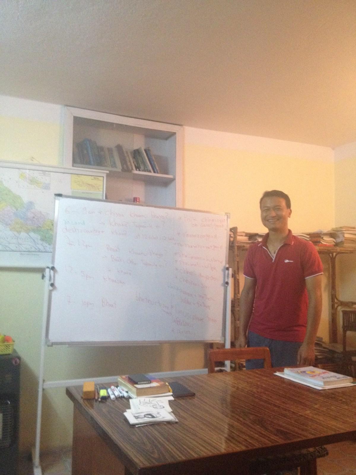 Nepal Travel: Nepali Language Course with Raju