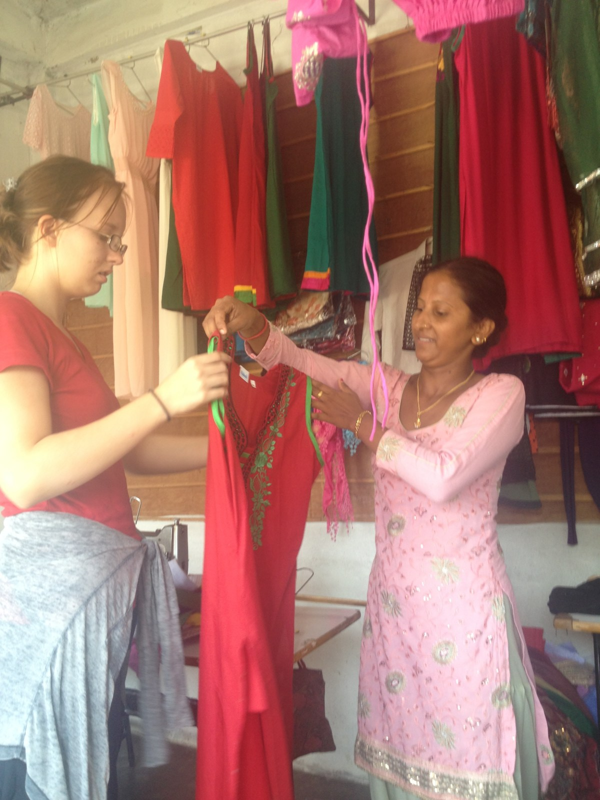 Chitwan National Park: Lydi Gets Custom-Made Nepali Clothes Part II