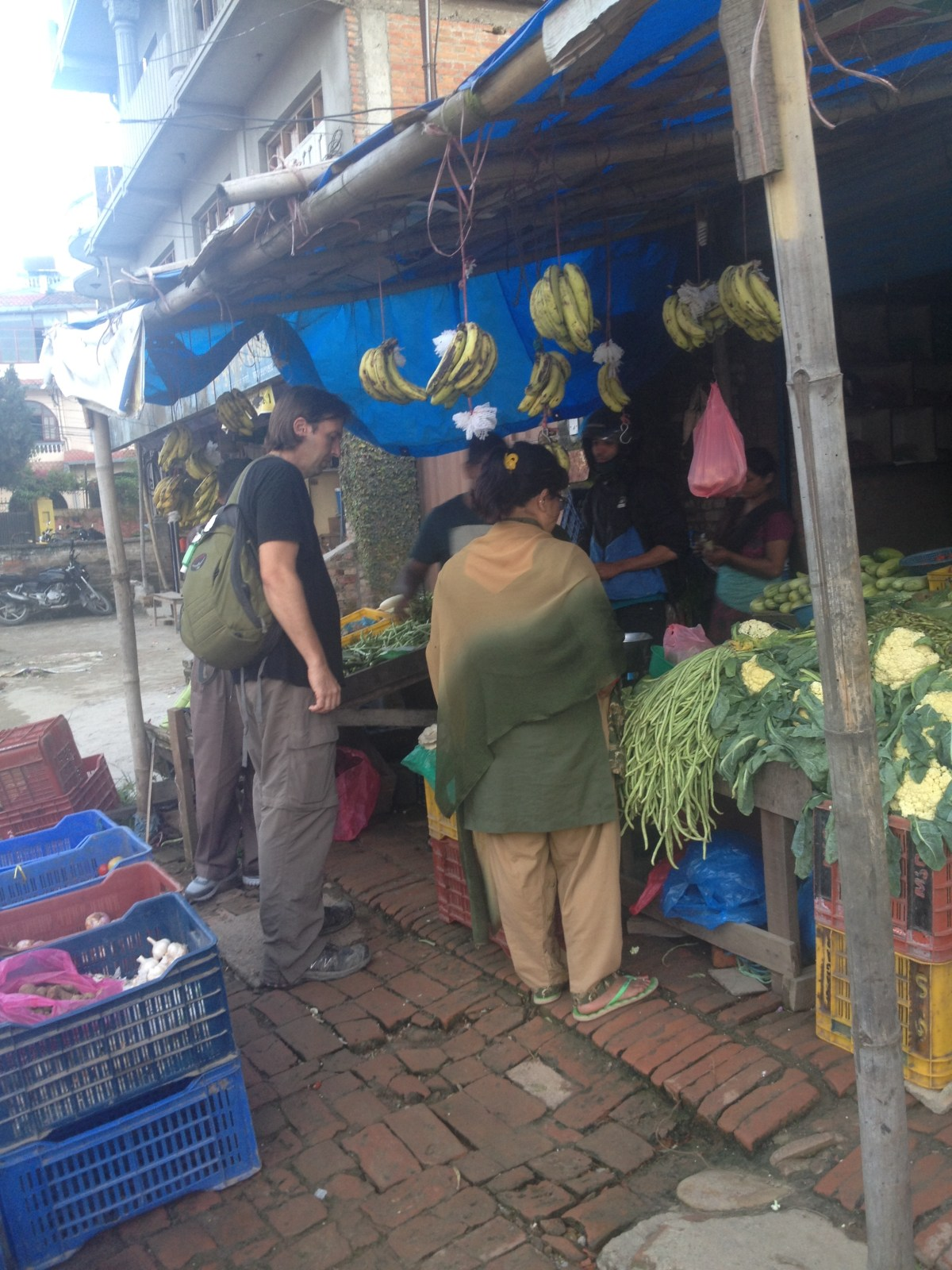 Nepal Travel: Kathmandu Grocery Store