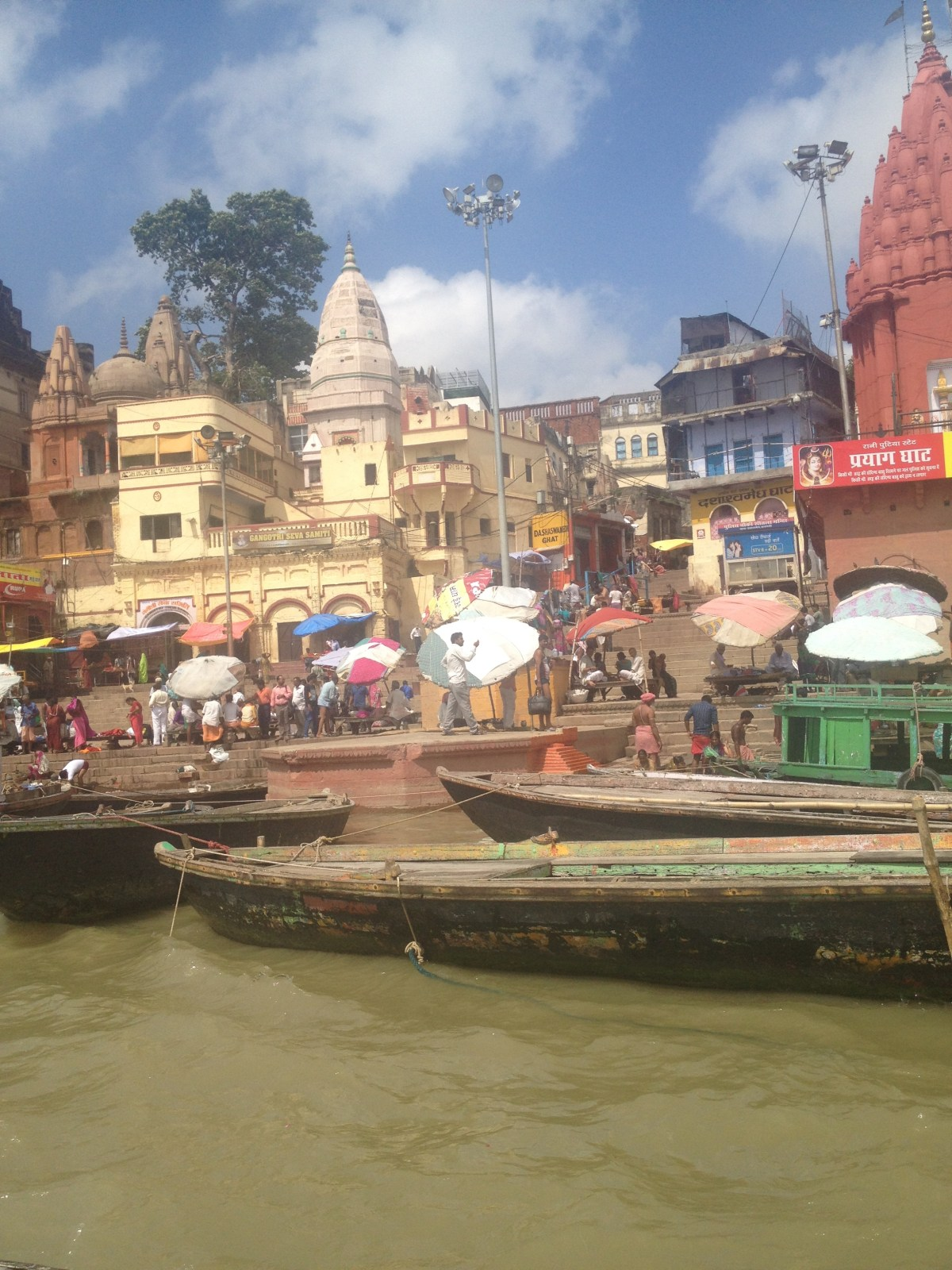 Varanasi Tourism: Our Ganges River Ride