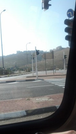 Driving in Jerusalem felt like driving in any city in the western world (for the most part).