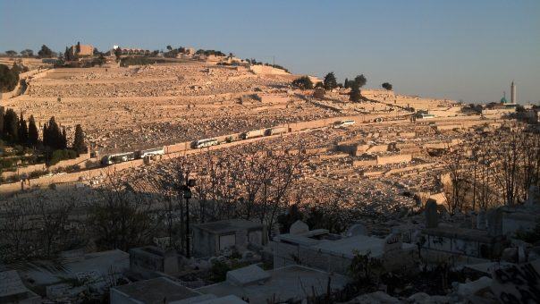The Mount of Olives, Jerusalem, Israel.
