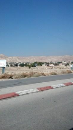Israel Jericho Driving in Israel