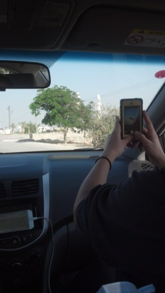 While driving through Jericho, we saw quite a few mosques. The city is claimed by Palestine.
