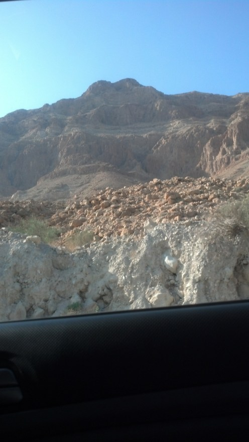 Some more of the landscape around the Dead Sea in Israel.