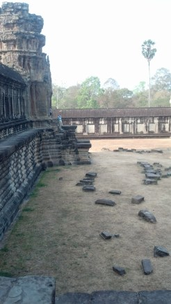 Some parts of Angkor Wat were almost completely free of tourists (which was nice).
