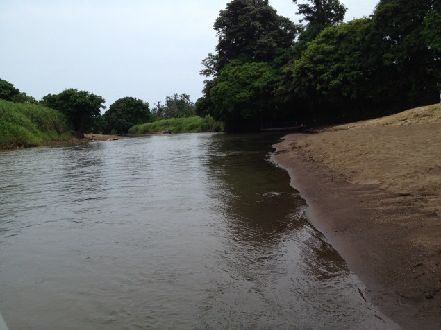 The river leading to Tortuguero, Costa Rica.