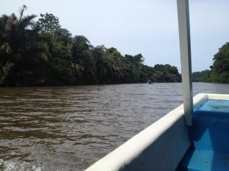 Leaving Tortuguero.