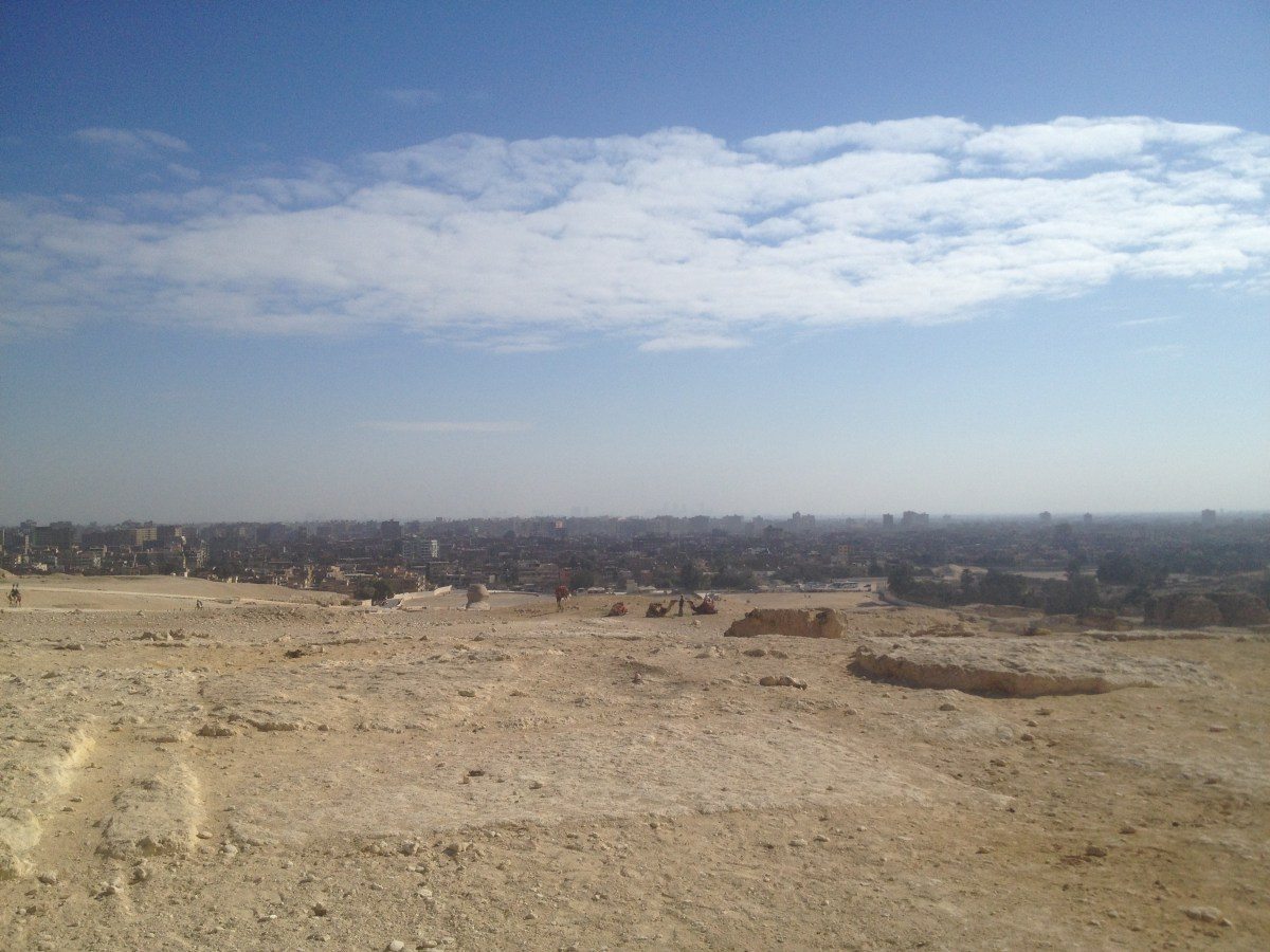 Egypt Tourism: Call to Prayer in Egypt Overlooking the Pyramids