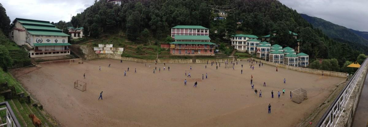 Tibetan Children's Village Soccer Game