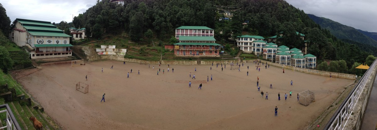 Tibetan Children's Village Soccer Game