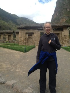 It was chilly at this elevation even during the summer months in South America.