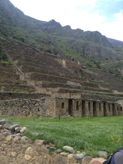 The Ollantaytambo ruins are spectacular.