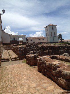 The Saksaywaman ruins are a combination of