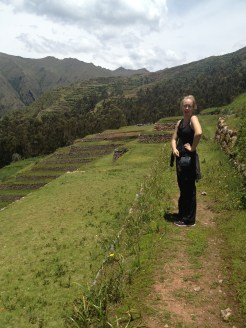 The ruins at Saksaywaman, Peru were easy to get to by taxi from Cusco.