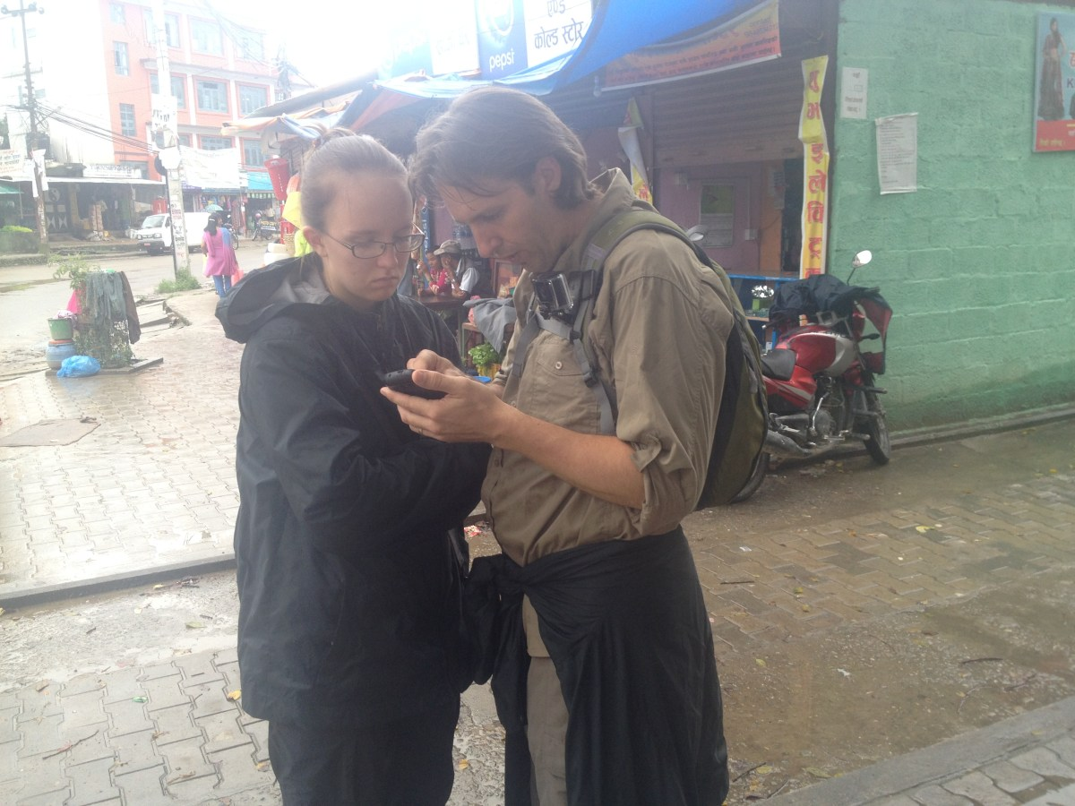Lydi Has Yet Another Breakdown in Kathmandu Nepal