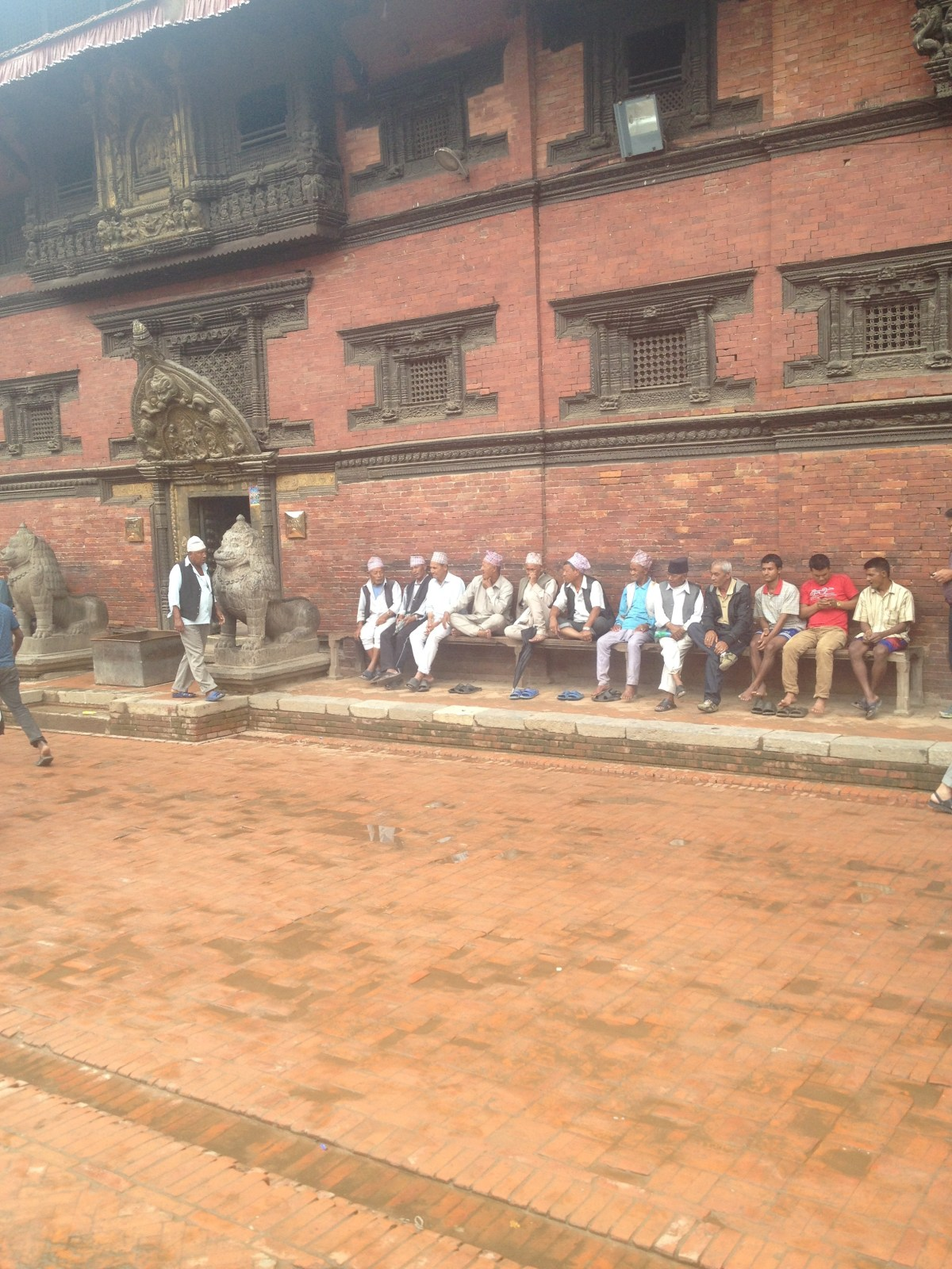 Nepal Travel: Straight Men Holding Hands in Kathmandu