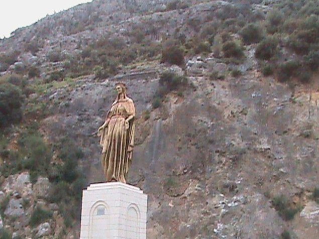 It was a quick drive up the mountain from Ephesus to the House of the Virgin Mary.