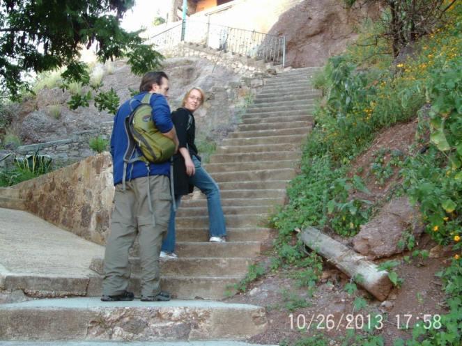 Guanajuato Mexico Stairs