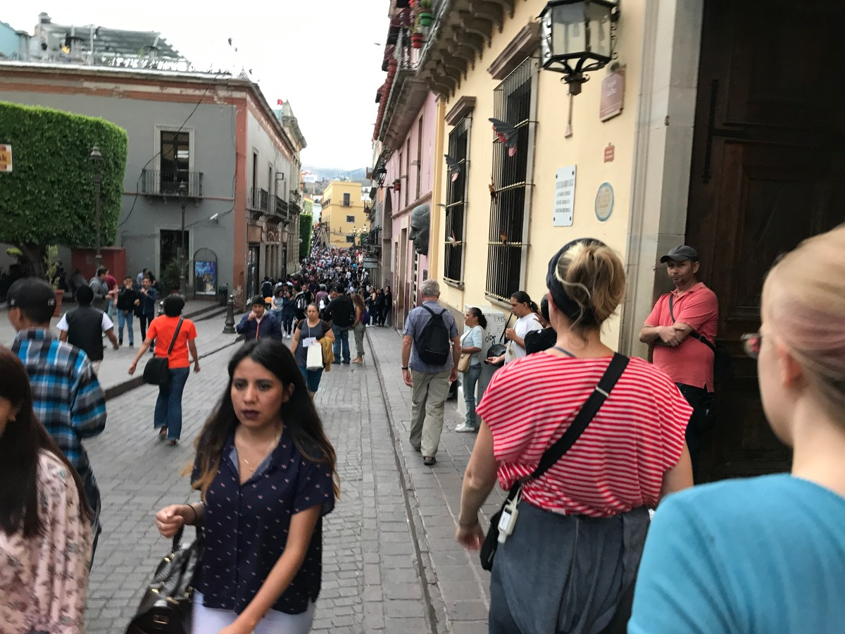 Happy Thanksgiving from Somewhere Other Than Home: Guanajuato, Mexico — By Jennifer Shipp