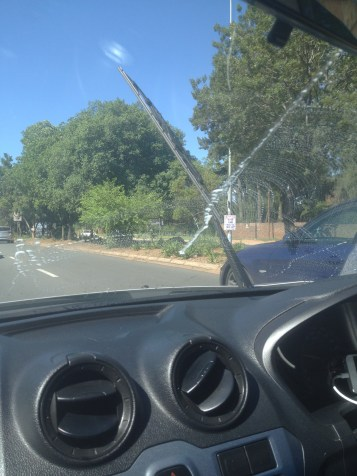 Driving in Johannesburg was relatively low key, but like lots of places in the world the occasional unsolicited window washing would happen.