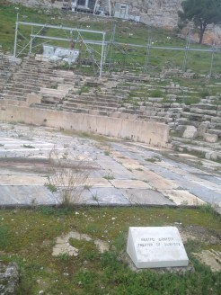 And another picture of the theater of Dionysus at the Acropolis...