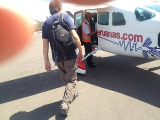 Nazca Peru Lines Airport Flight John