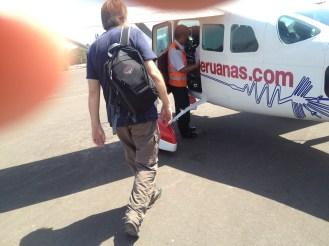 Nazca Peru Lines Airport Flight John