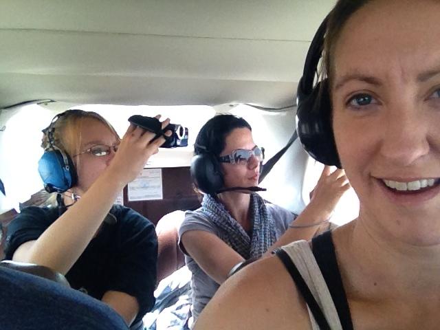 Selfie Nazca Peru Lines Airport Flight
