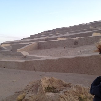 The Cahuachi Ruins in Nazca, Peru.