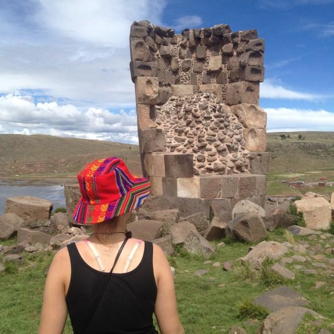 Puno Peru Sillustani Chullpas