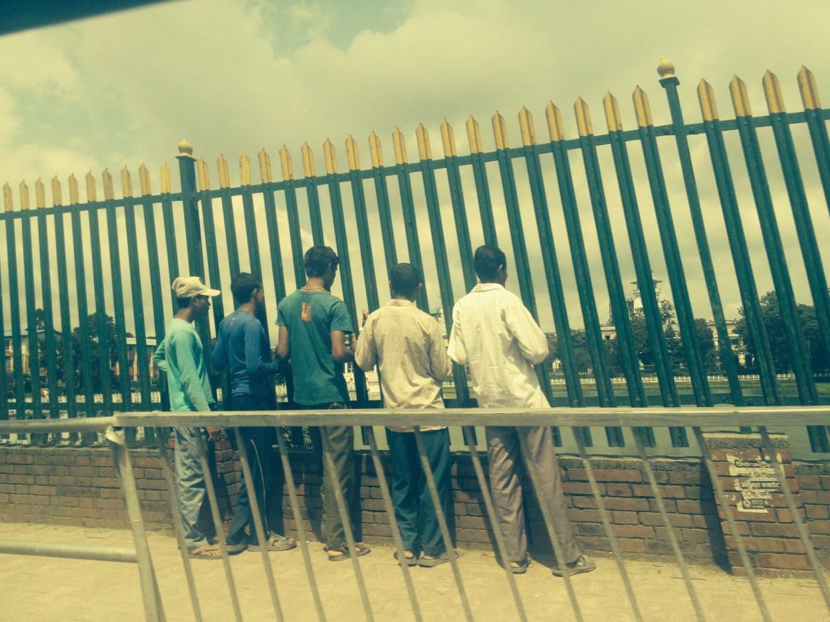 Straight Men Holding Hands in Kathmandu — By Jennifer Shipp
