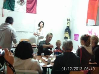 Making Pinatas Escuela Falcon Guanajuato Mexico 7