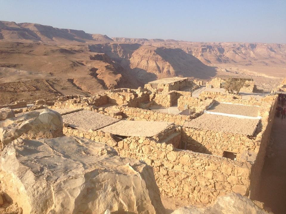 Masada Near the Dead Sea in Israel: Photo Gallery