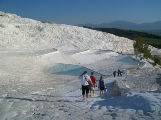 Pamukkale Turkey Travertine Terraces 37